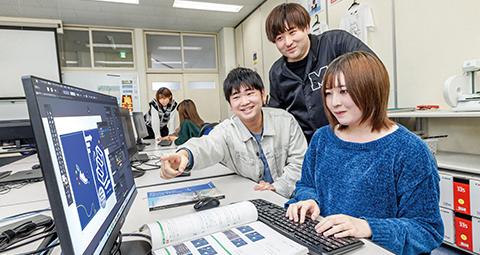 情報システム科 Web・CGデザインコース